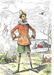 Pinocchio par Enrico Mazzanti (1883)
