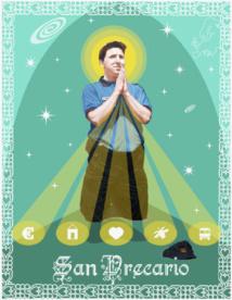 Saint-Précaire, patron de la jeunesse européenne