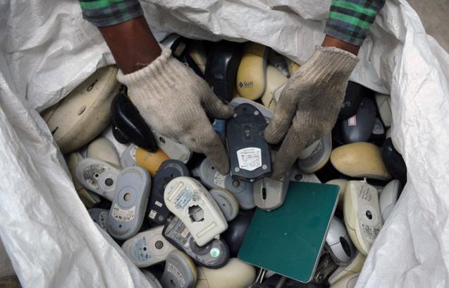 Le grand gaspi des e-déchets