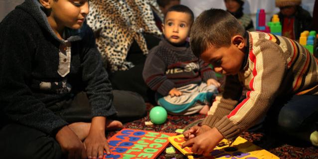 Des réfugiés syriens au Liban