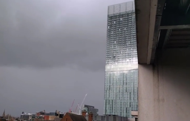 La Beetham Tower de Manchester