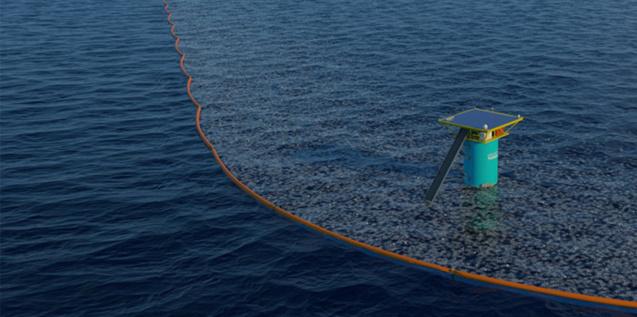 Le plastique des océans piégé par des tourbillons
