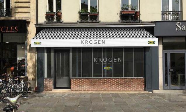 Krogen, le resto éphémère d'IKea