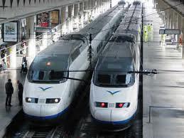 Liaison ferroviaire directe grande vitesse entre la France et l'Espagne