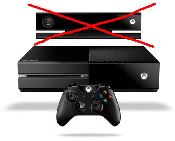 Contre la PlayStation 4, Microsoft retire le Kinect de la Xbox One