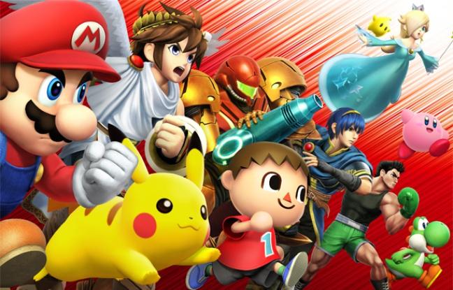 «Super Smash Bros», ou la bagarre loufoque des personnages Nintendo