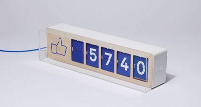 Fliicke, le compteur de fans Facebook