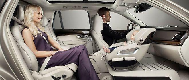 Volvo repense le siège bébé