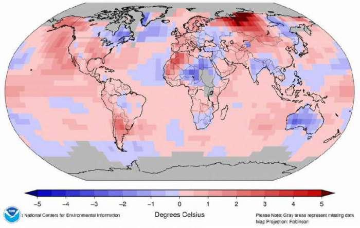 Juillet 2015, record absolu de chaleur
