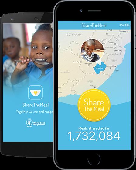 « Share the meal », l'appli contre la faim dans le monde