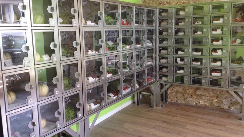 Des fruits et légumes à la tirette