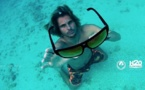 Super, les lunettes de soleil qui flottent !